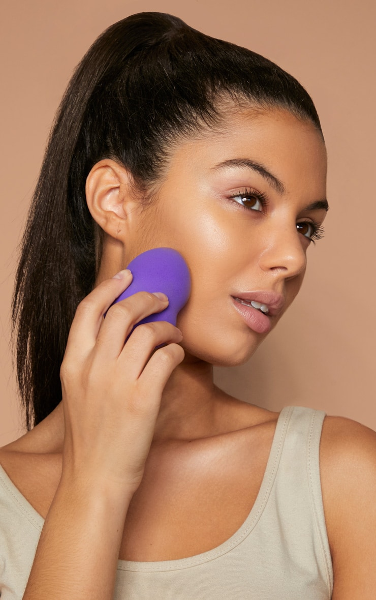 Purple Make-Up Blending Sponge  2