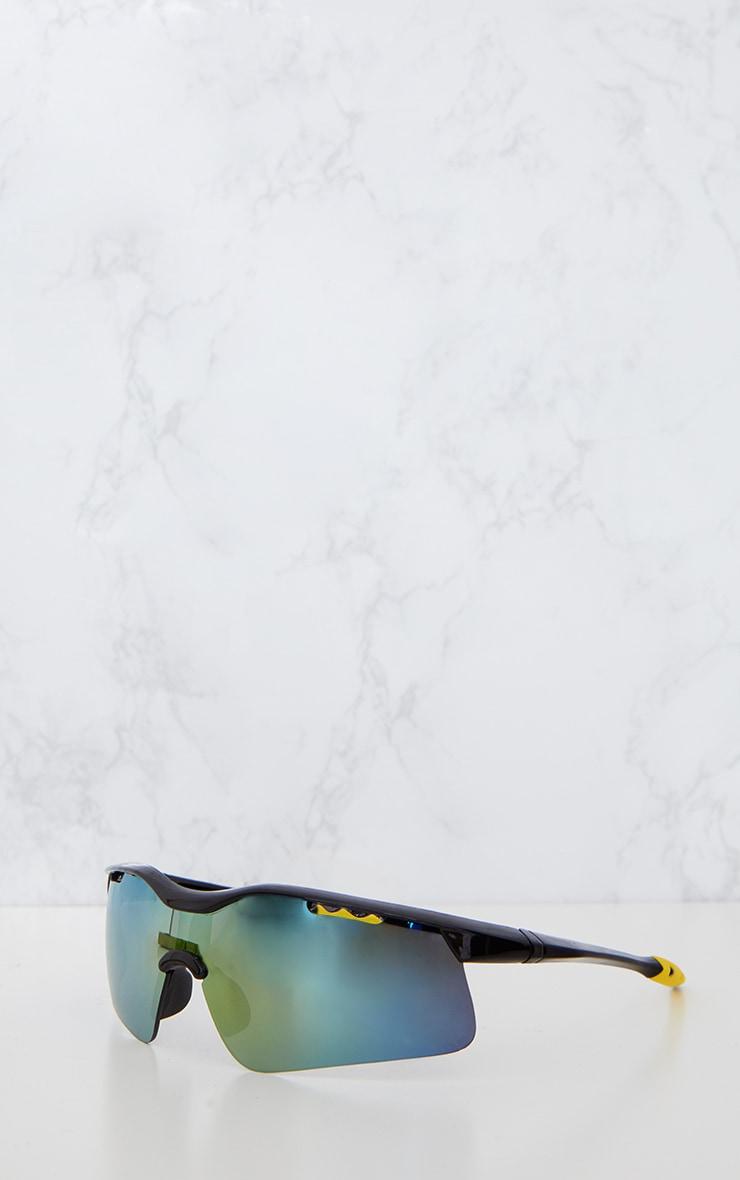 Black Sports Style Sunglasses 4