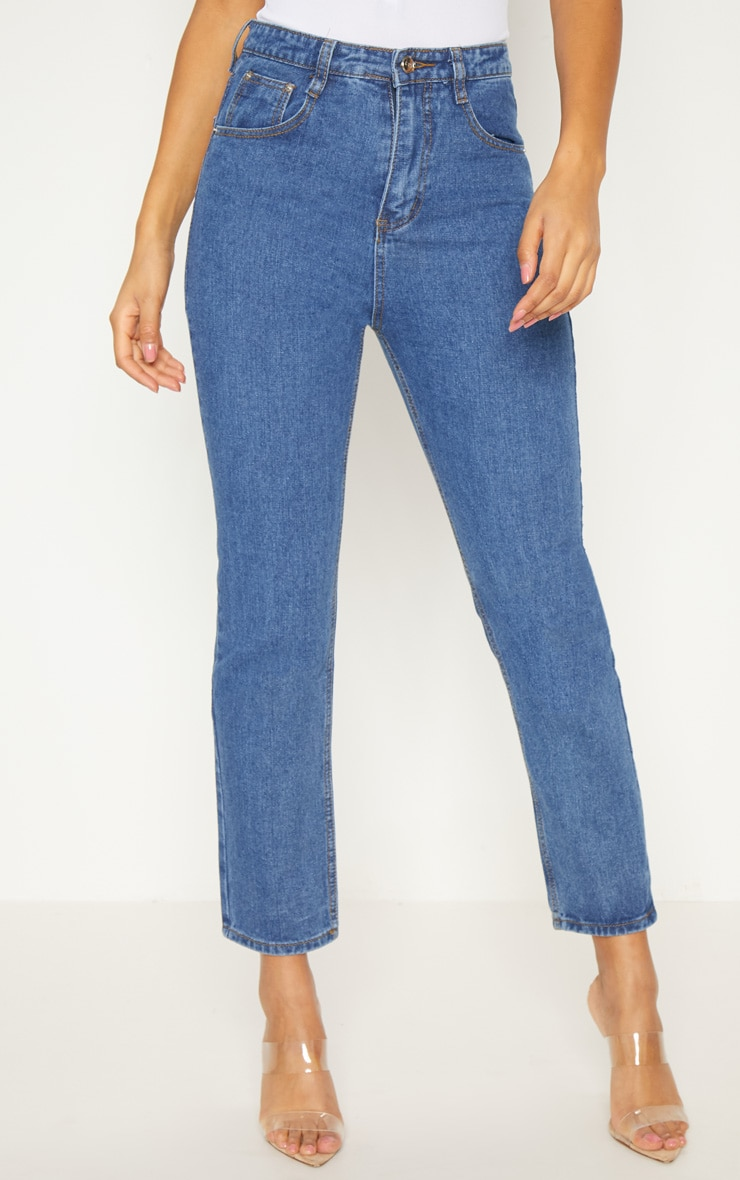 Dark Wash  Mom Jean  2