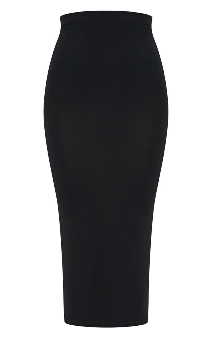 Basic jupe midaxi noire 3