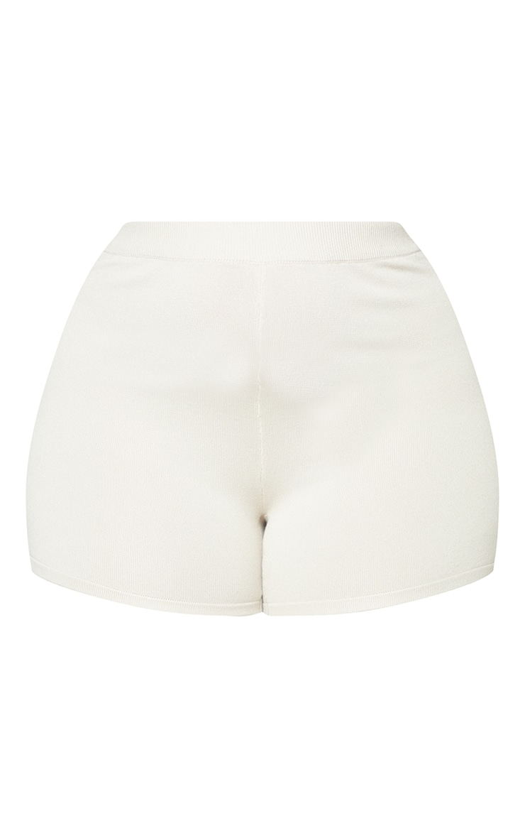 Plus Stone Knit Cycle Shorts 4
