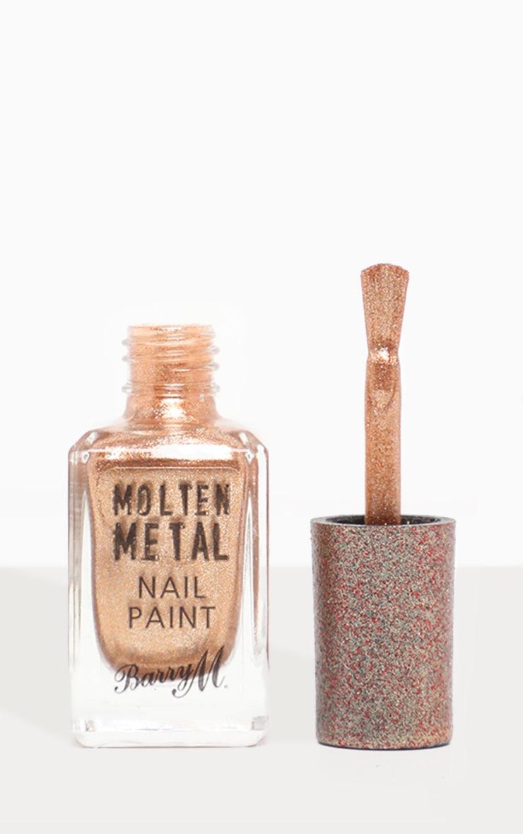 Barry M Molten Metal Bronze Bae Nail Paint 3