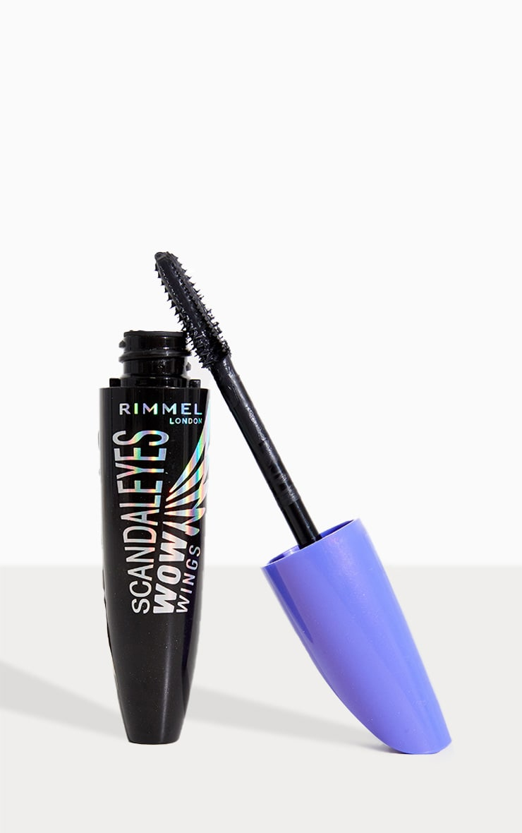 Rimmel Scandaleyes Wow Wings Black Mascara 1