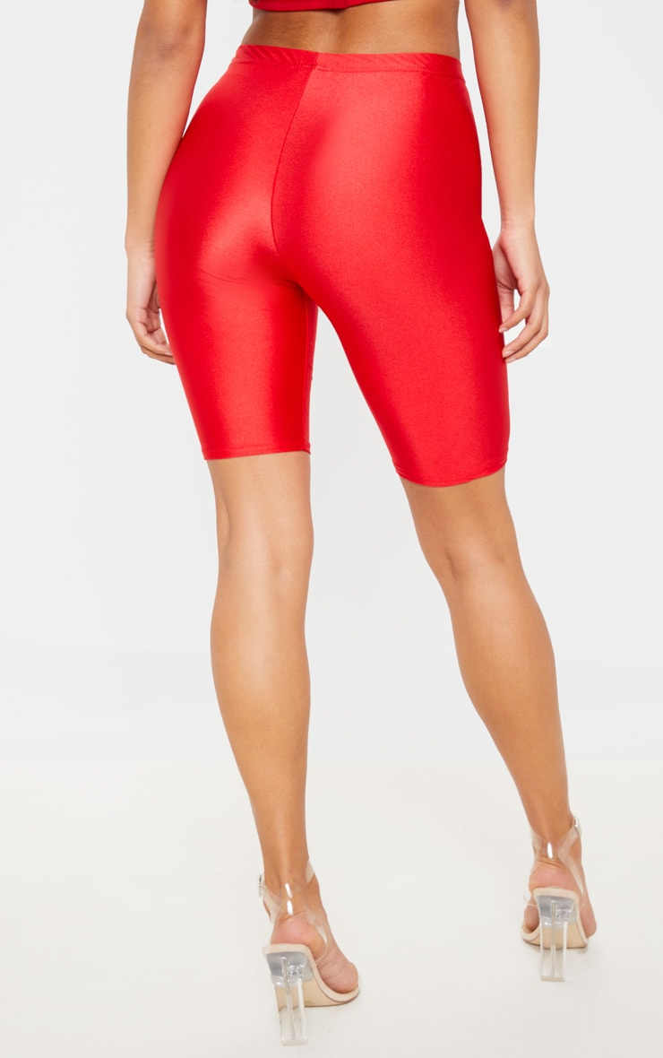 Red Disco Cycle Short 4