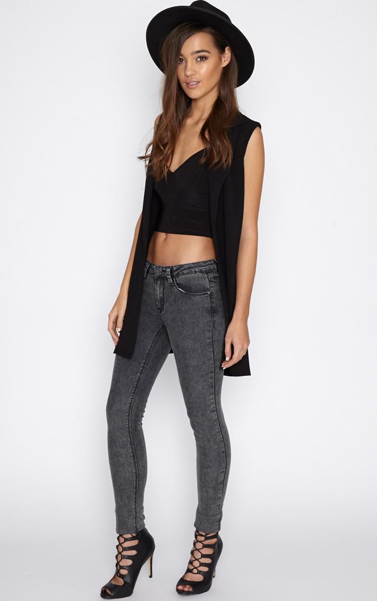 Ivy Charcoal Skinny Jean  5