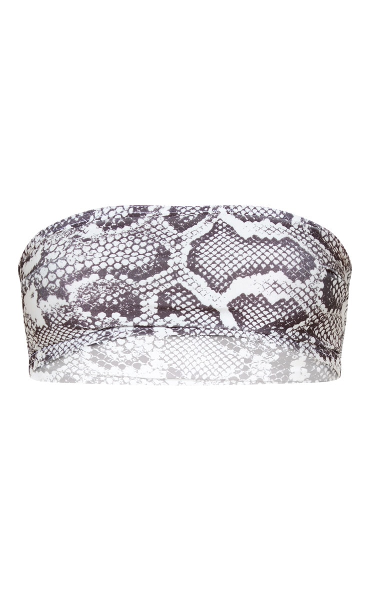 Snake Mix & Match Bandeau Bikini Top 3