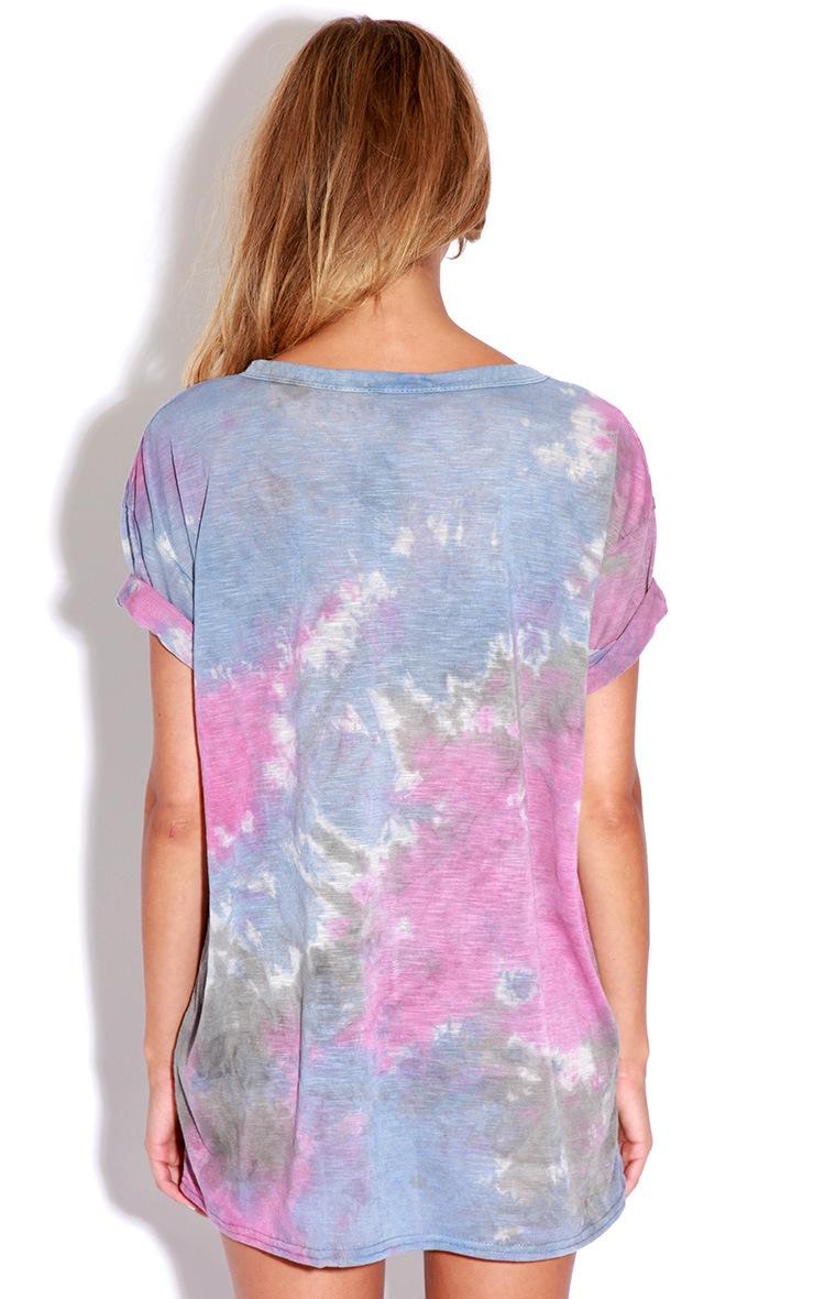 Meena Tie Dye LOVE T-shirt 2