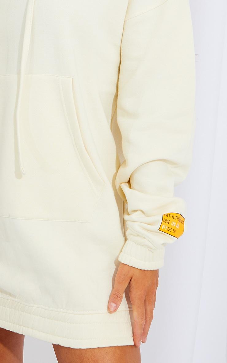 Cream Limited Edition Slogan Hoodie Sweater Dress 4