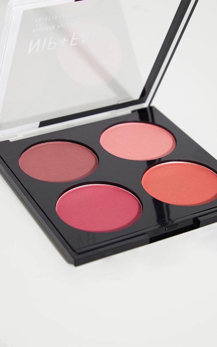 Nip & Fab Blushed Brights Blusher Palette  3