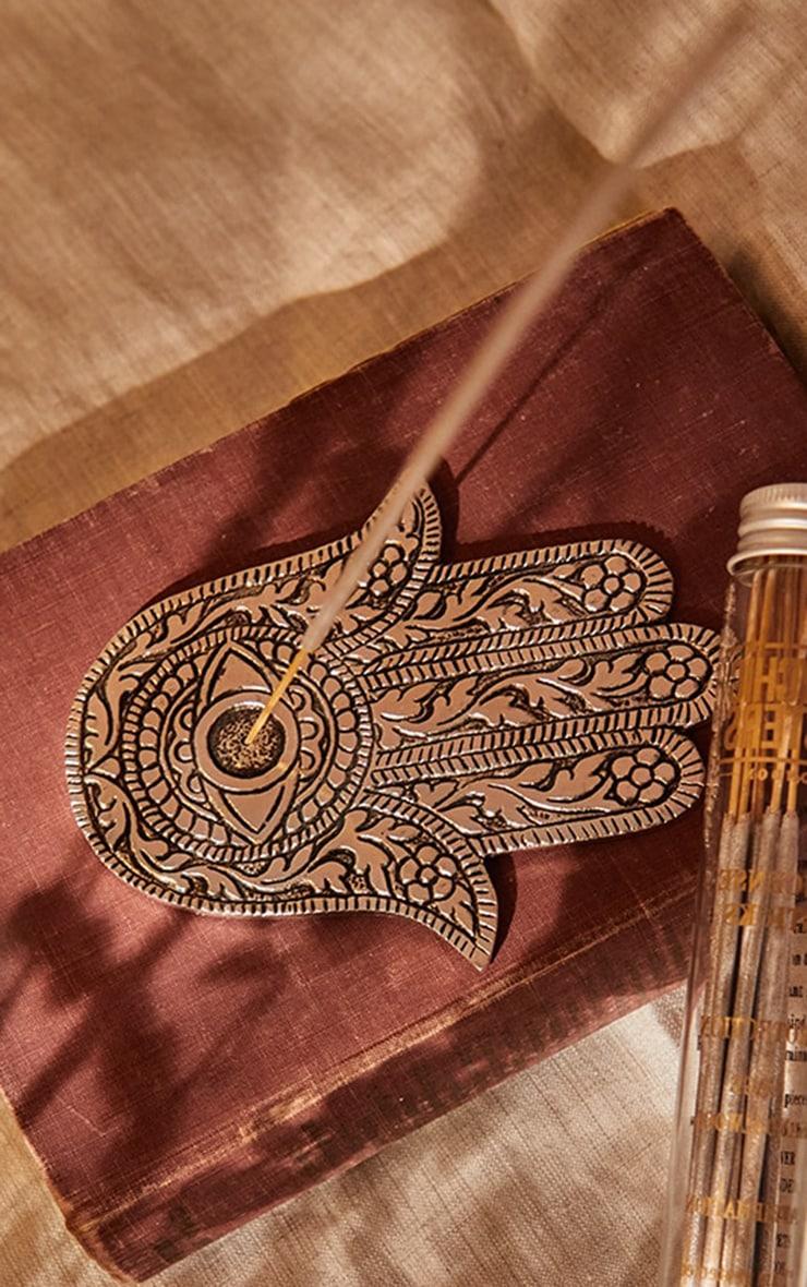 Hamsa Hand Incense Holder 1