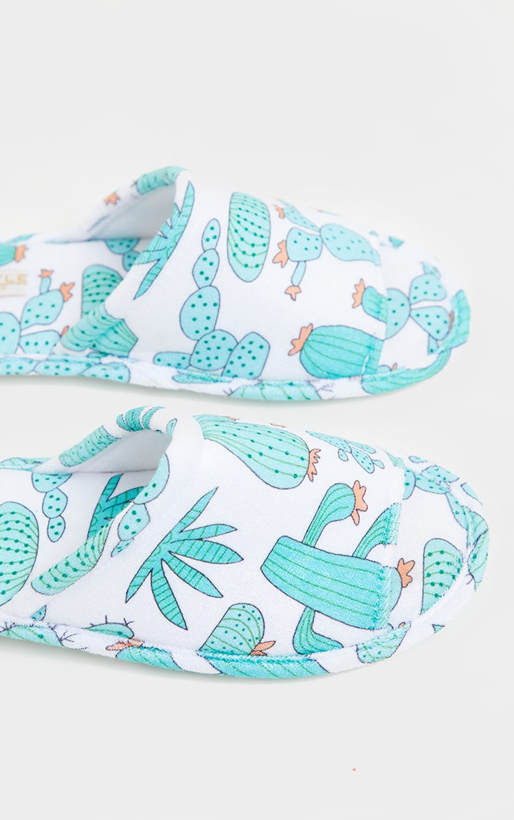 Green Cactus Slippers 4