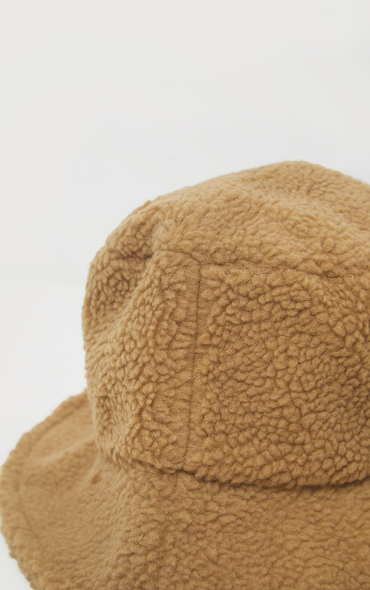 Camel Borg Bucket Hat 3