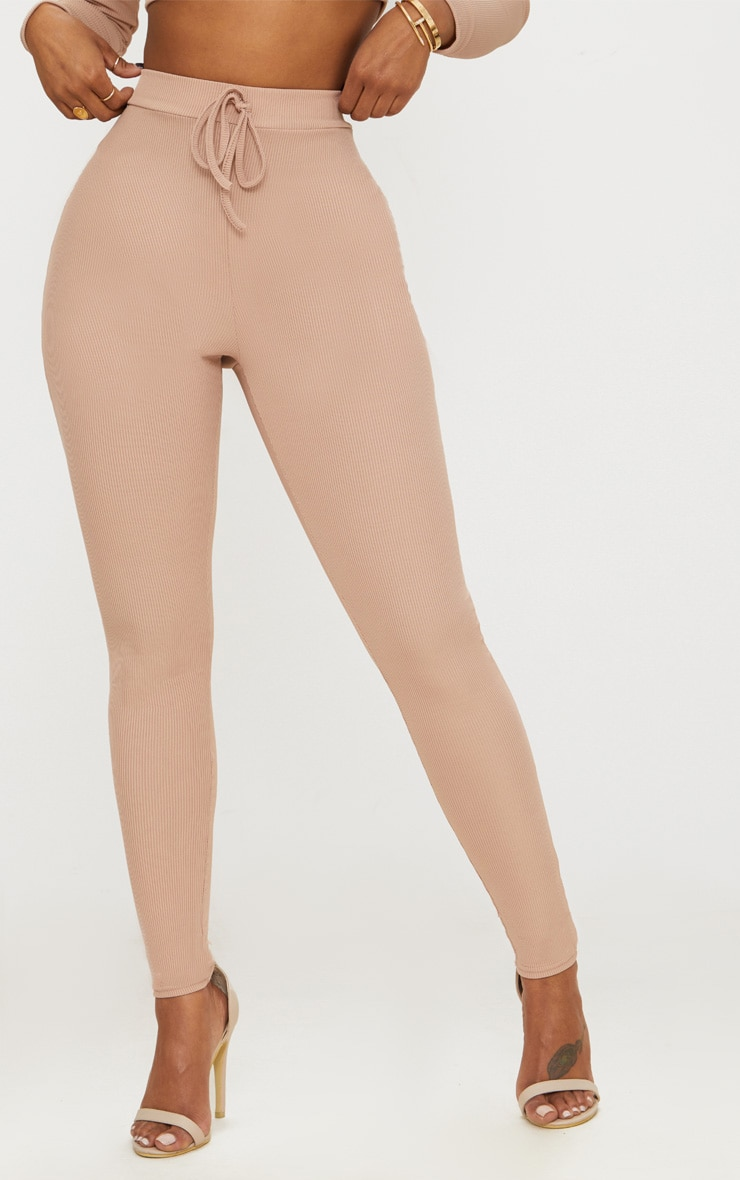 Shape Nude Ribbed High Waist Leggings 2
