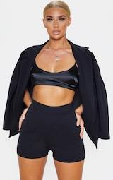 Black Suit Shorts 4