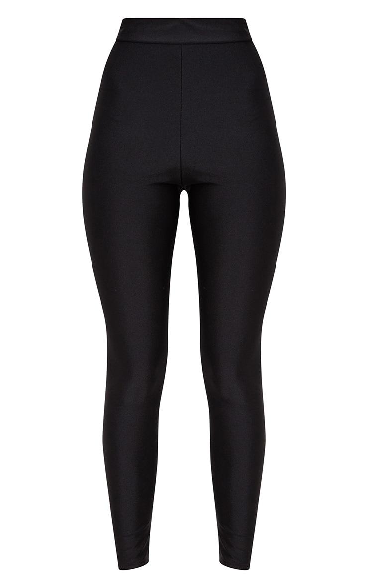 Black Disco High Waisted Leggings 3