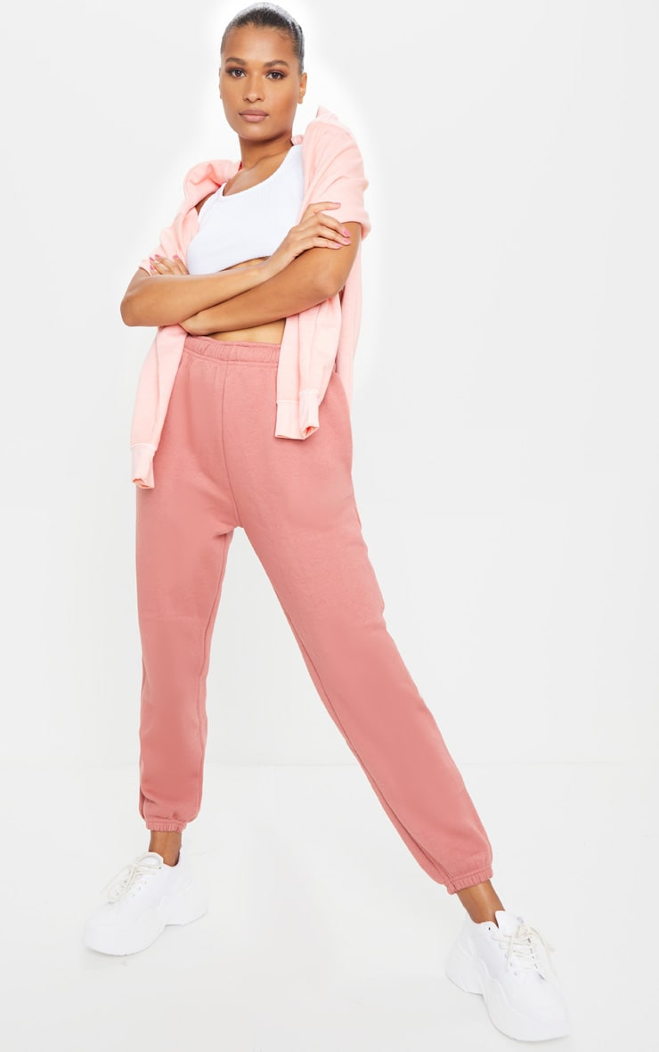 Dusty Pink Sweat Pant Joggers 1
