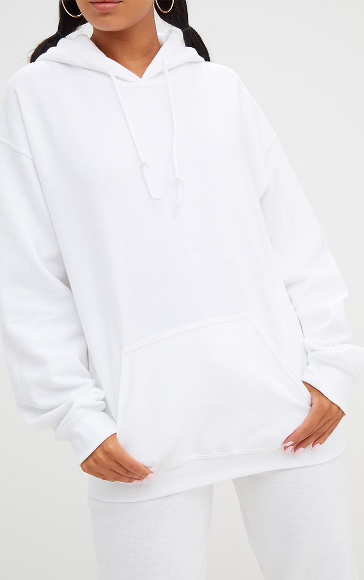 White Ultimate Oversized Hoodie 5