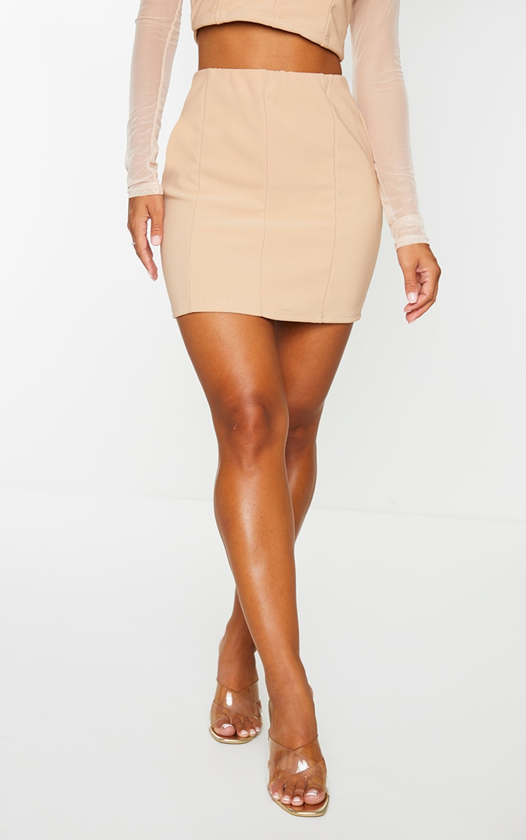Stone Mini Bandage Skirt 2