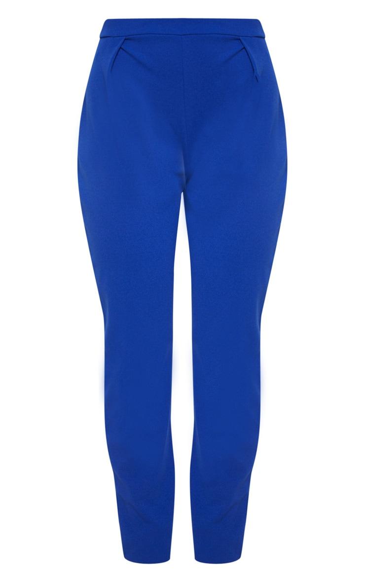 Blue Cigarette Crepe Trouser 3
