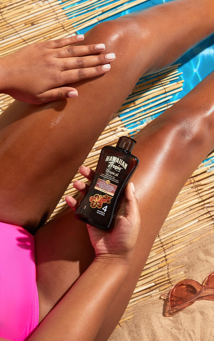 Hawaiian Tropic Coconut Tanning Oil 4 Rich 200ml 2