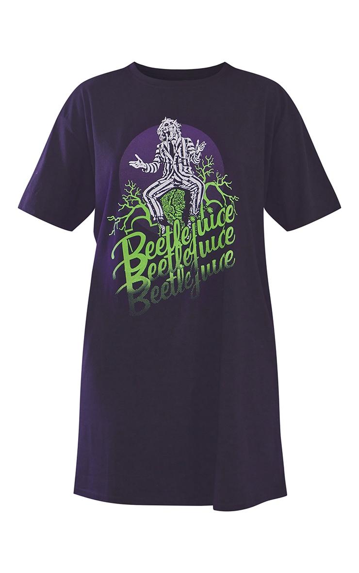 Robe t-shirt noire à slogan Beetlejuice 6