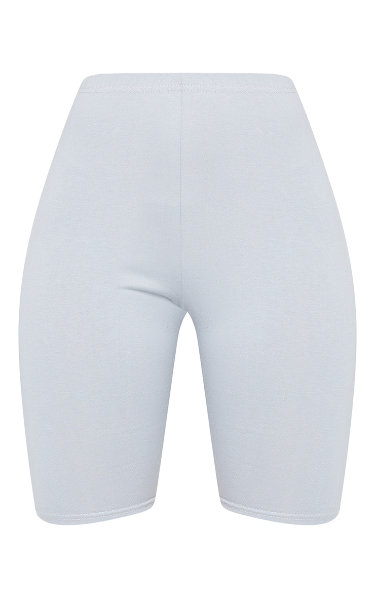 Space Grey Cotton Stretch Cycling Shorts 6