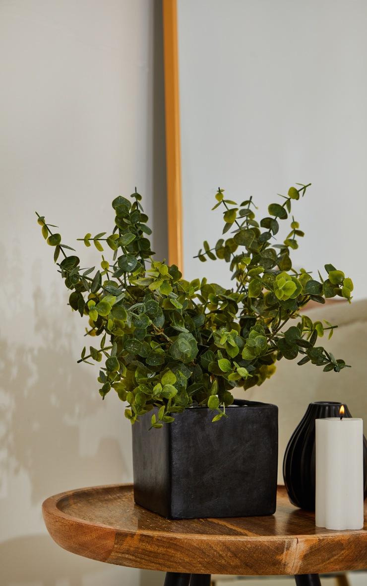 Black Cube Planter image 1