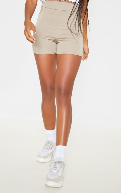 Taupe & Maroon 2 Pack Hot Pants