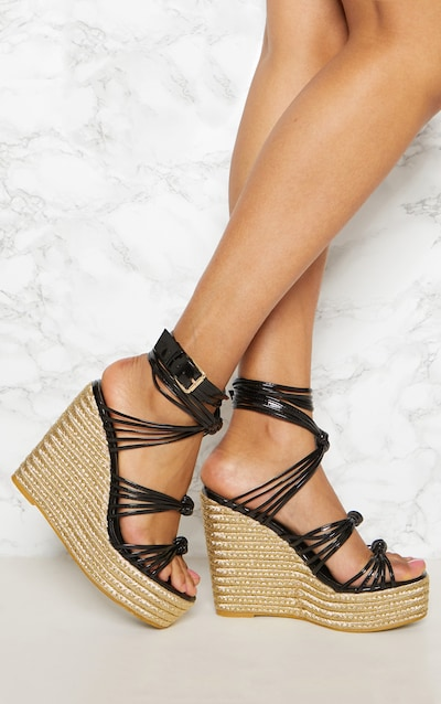 Wedges Wedges Shoes Wedge Sandals Prettylittlething