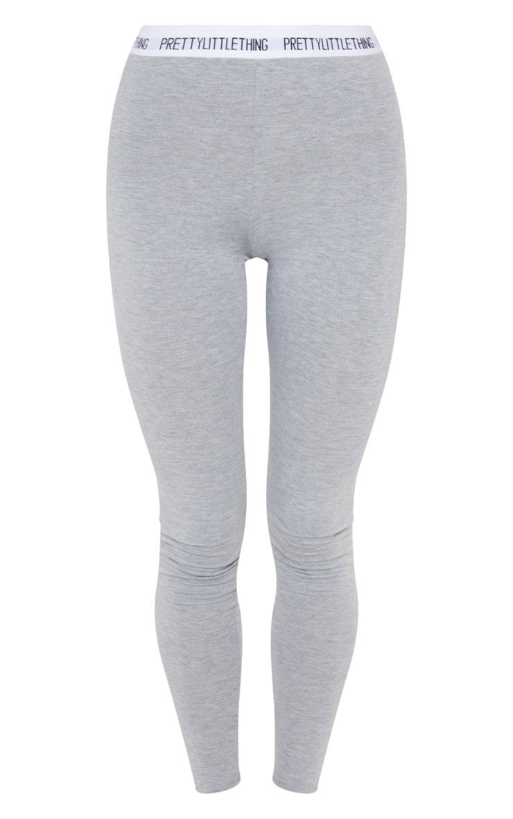 PRETTYLITTLETHING Grey Leggings 3