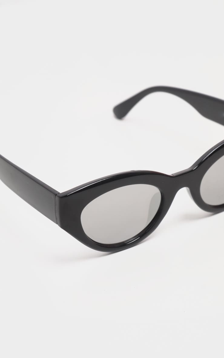 Black Cat Eye Revo Lens Sunglasses 3