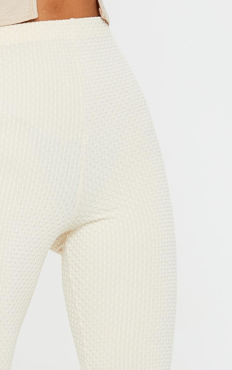 Stone Textured Polka Leggings 4