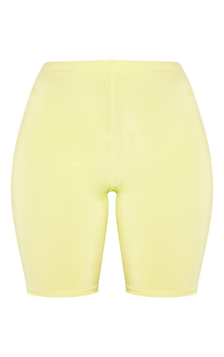 Short-legging long vert citron clair Mix & Match  3