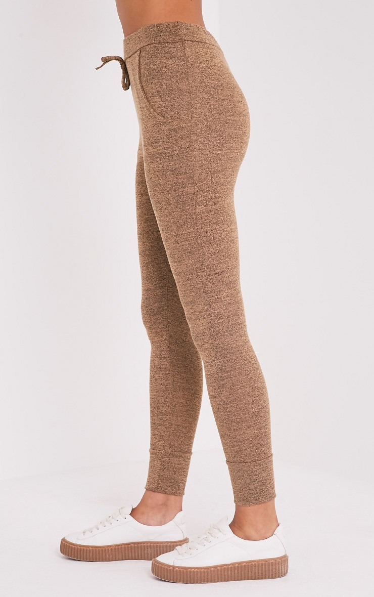 Haree Camel  Casual Tracksuit Bottoms 3