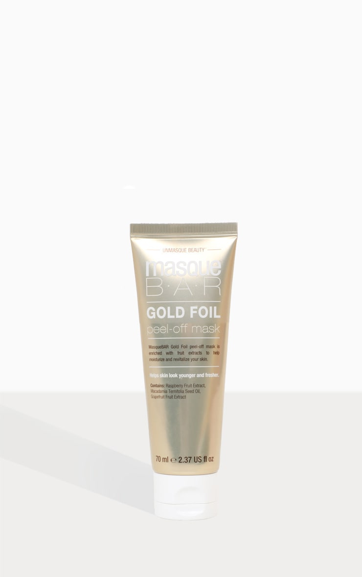 MasqueBar Gold Peel Off Mask Tube 70 Ml 2