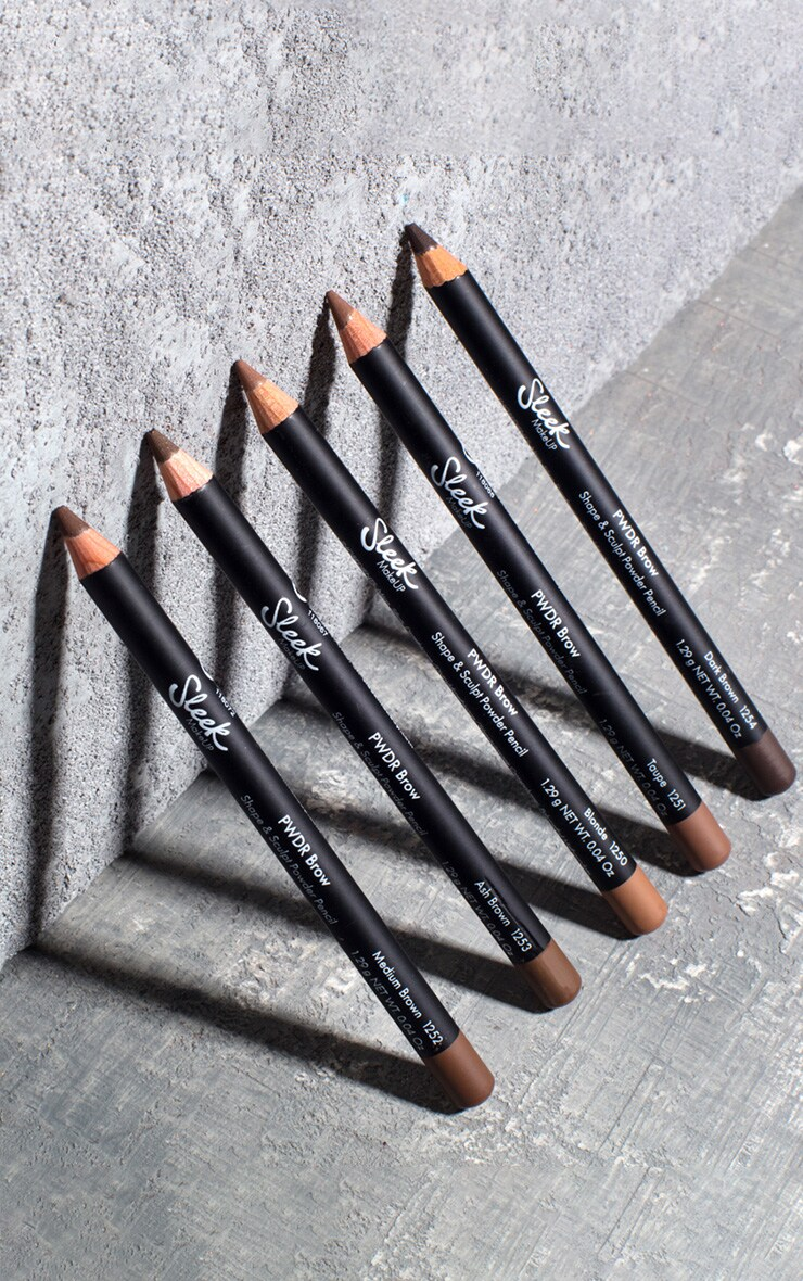 Sleek MakeUP PWDR Brow Pencil Ash Brown 4