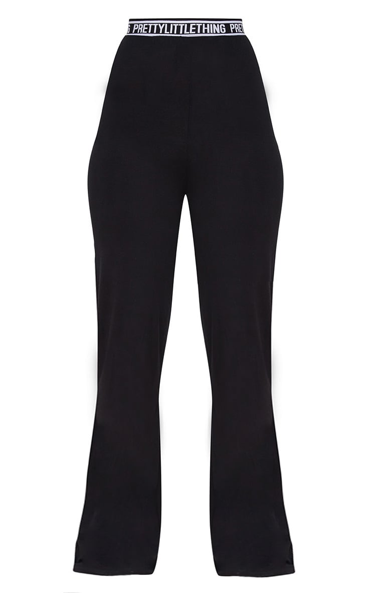 PRETTYLITTLETHING Black PJ Pants 3