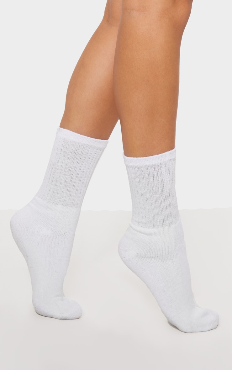 White Sport Socks 2