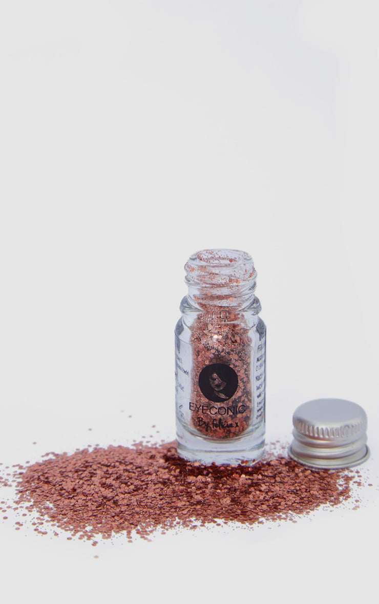 Eyeconic 3D Glitter Pot Rose Gold 2
