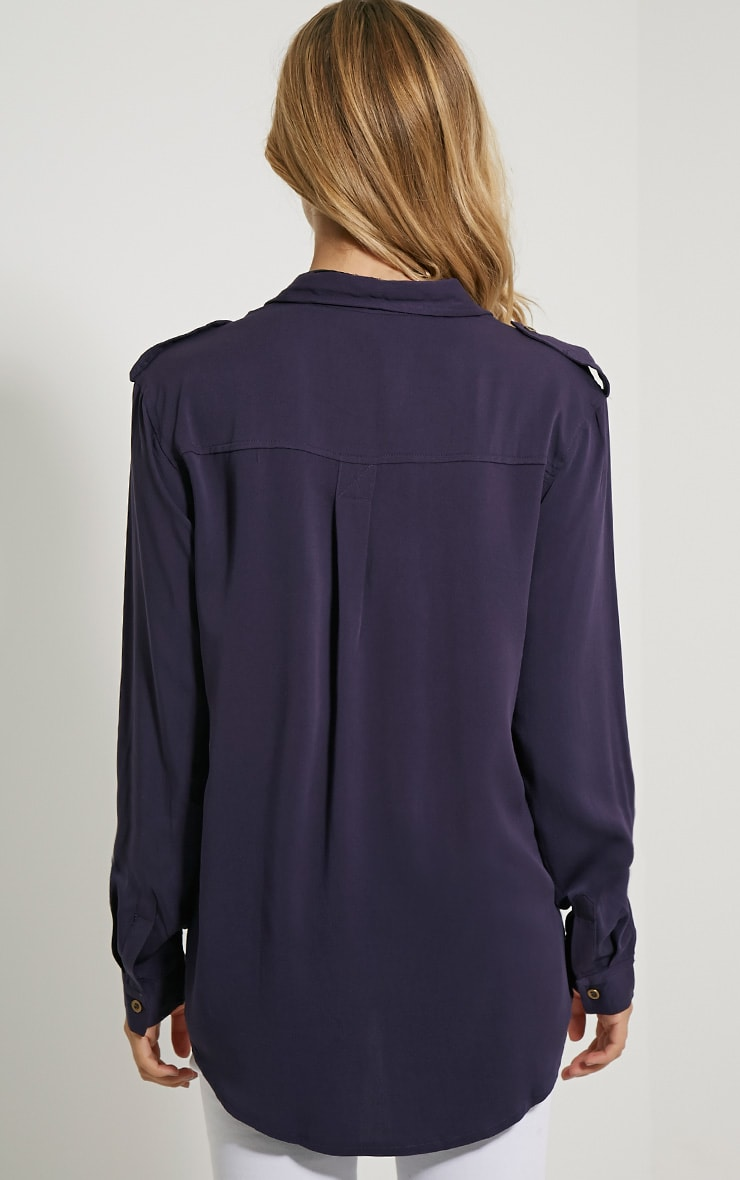 Marni Navy Military Shirt 2