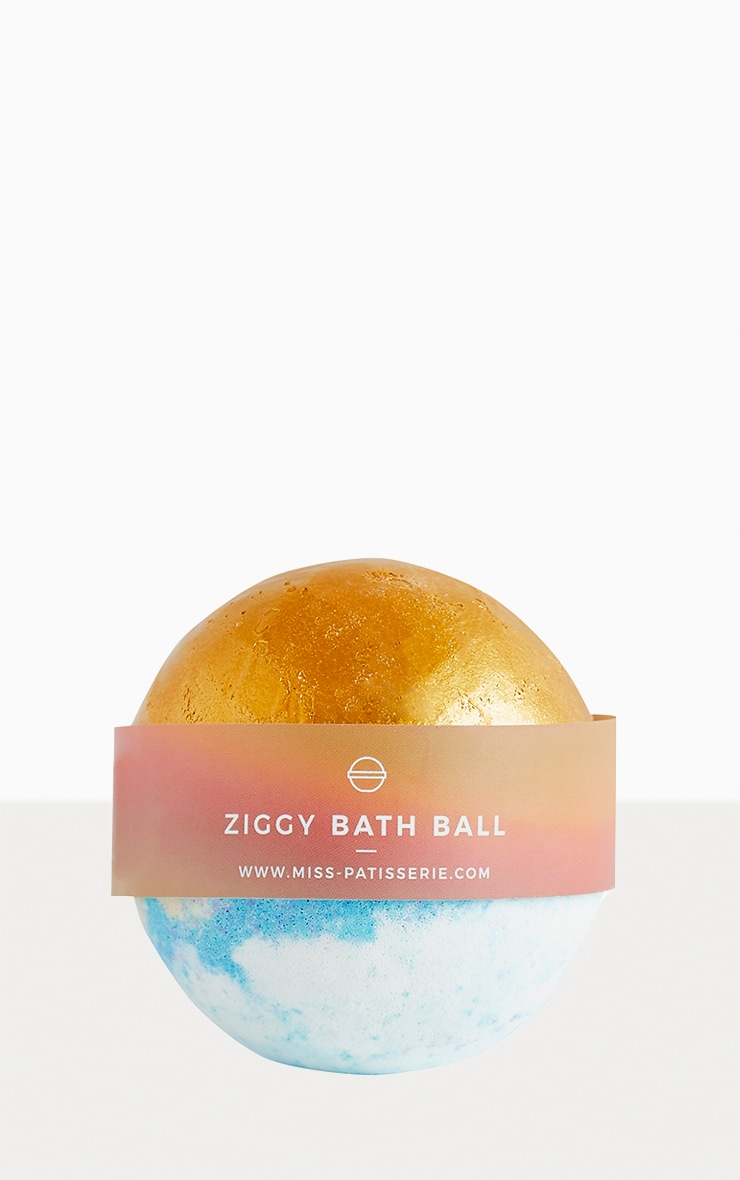 Miss Patisserie Ziggy Gold Bath Ball 1