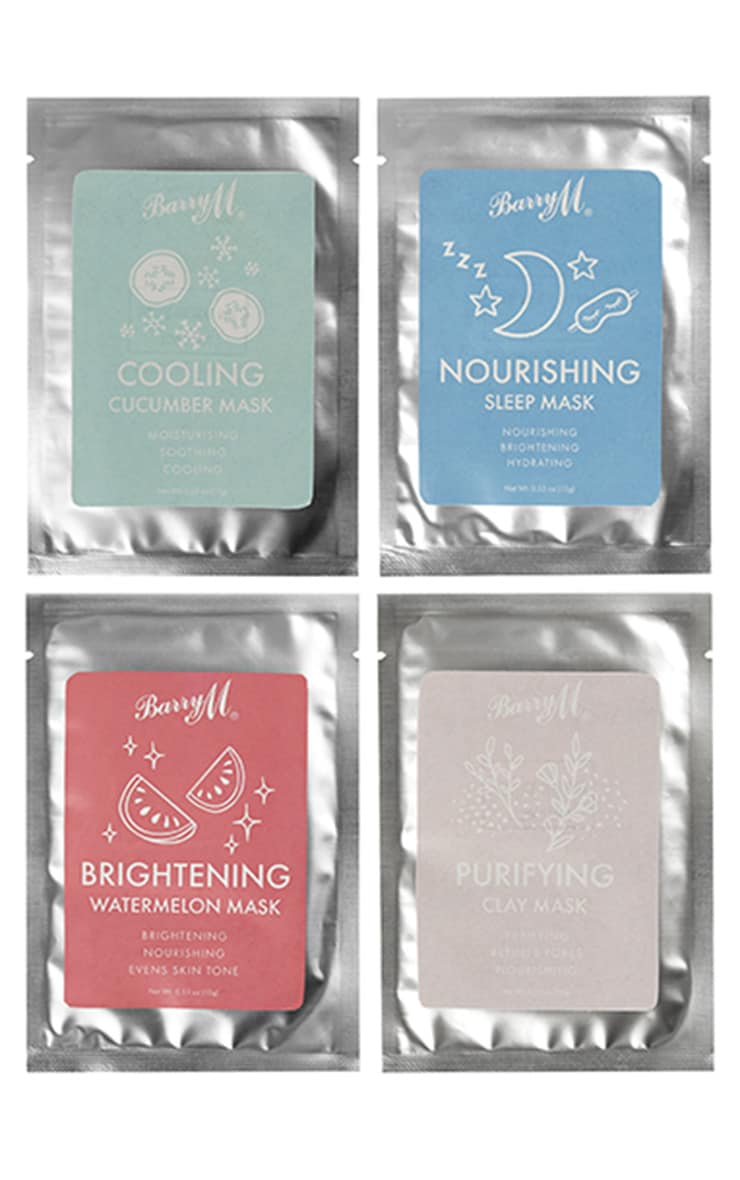 Barry M Relax & Recharge Face Masks 4 Pack 3