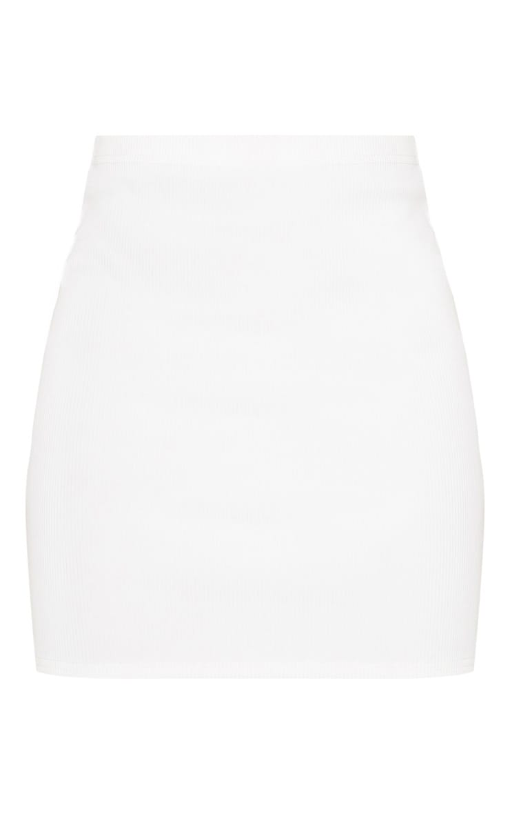 White Cut Out Sleeve Bodycon Dress 3