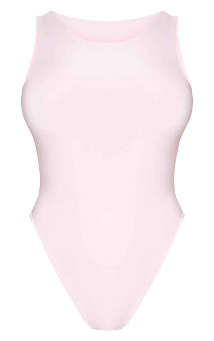 Shape Dusty Pink Sleeveless Slinky Bodysuit 5