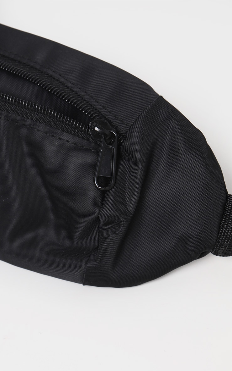 Black Rectangle Fanny Pack 3