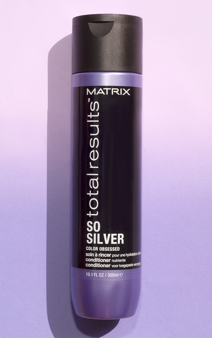 Matrix Total Results Color Obsessed So Silver Conditioner Blonde Hair 300ml 1
