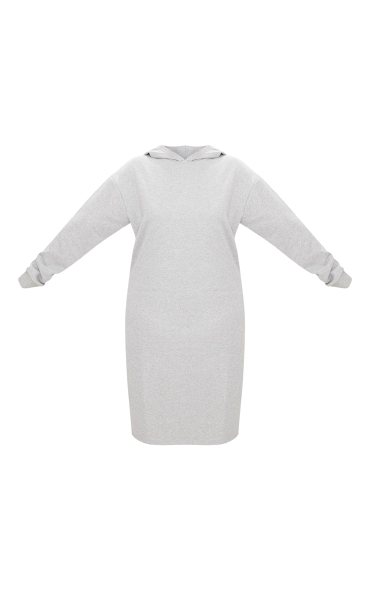 Plus Grey Marl Midi Sweater Dress 3