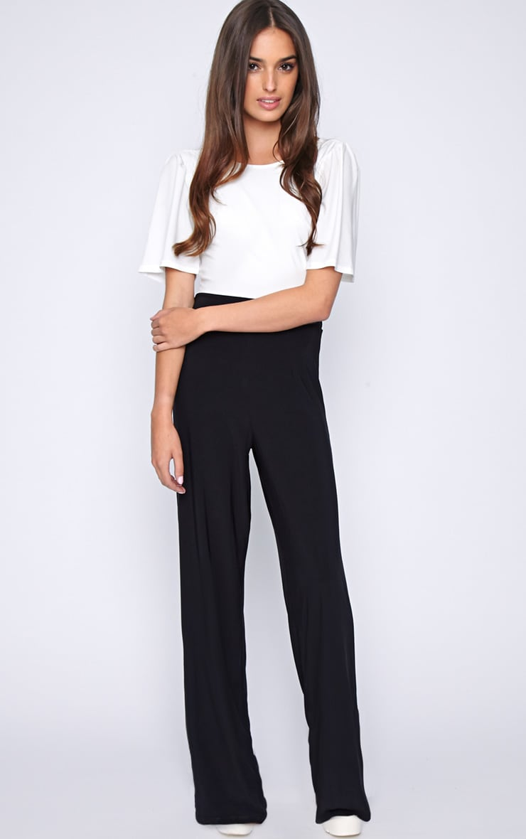 Trinity Monochrome Cut Out Back Jumpsuit  3