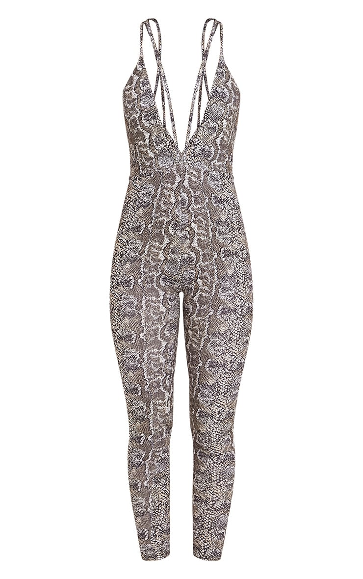 Ina Snake Print Harness Jumpsuit 3