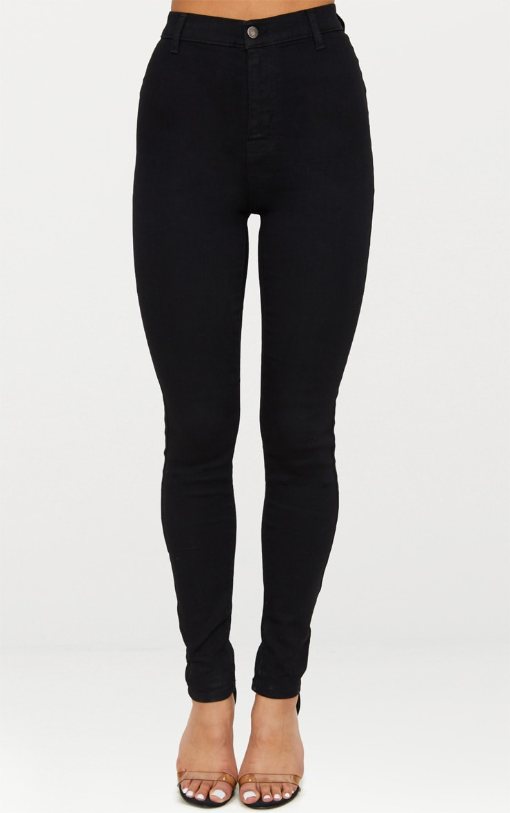 Black Disco Fit Skinny Jean 2